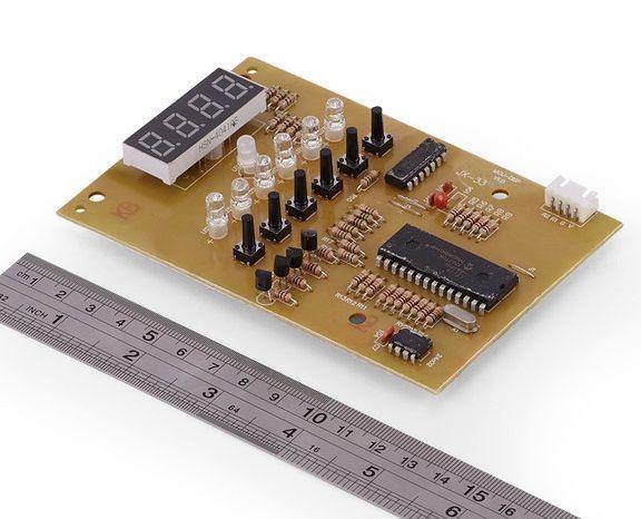 Плата индикации CH-211M (JX-33) для облучателя-рециркулятора Armed CH211-115, CH211-130 (металл)